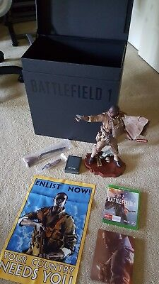 Battlefield 1 Collectors Edition Preorder Statue pack Xbox One (Gaming)