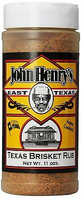 JOHN HENRY'S East TEXAS BRISKET BBQ Dry Rub - Only from SIR BBQ