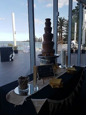 Commercial Stainless Steel Chocolate Fountain