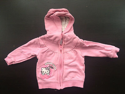 Sweat hello kitty rose 56cm (1mois)
