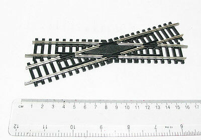 NEW HORNBY R614 Left Hand Diamond Crossing OO Gauge Nickel Silver AUSSIE SELLER