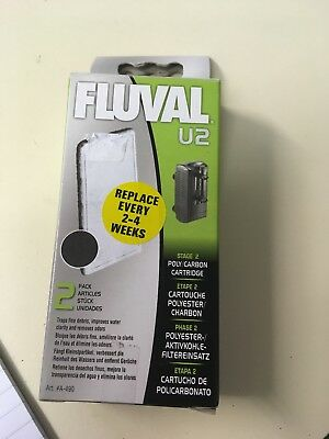FLUVAL FILTER MEDIA REPLACEMENT Poly/carbon PADS FISH TANK INTERNAL FILTRATION