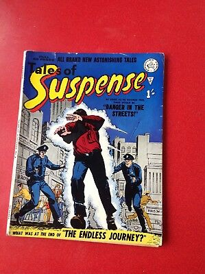 tales of suspense no2 comic by Alan class in  fine condition