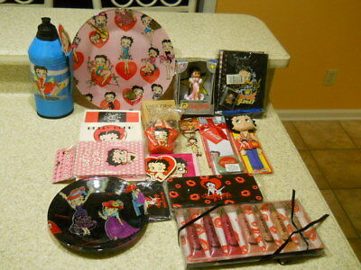 Lot of 15 pcs. misc. Betty Boop items as shown in photos