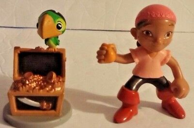 Jake And The Neverland Pirates Toys Figures Disney Lot of 2  Izzy & Sculley