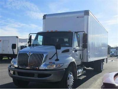 2012 International 4300  209525 Miles White   Automatic