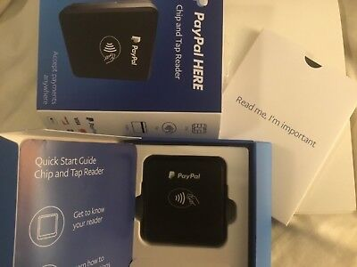 Paypal Card Chip and Tap Reader