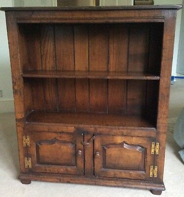 Titchmarsh & Goodwin Solid Oak Low Bookcase RL41FP