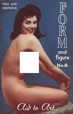 Rare vintage UK pocket size magazine 50s or 60s: Special Form and Figure No. 6