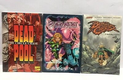 Comic Book Bundle Dead Pool Divine Right Battle Chasers