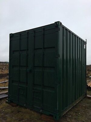 10 ft x 8ft high cube shipping container