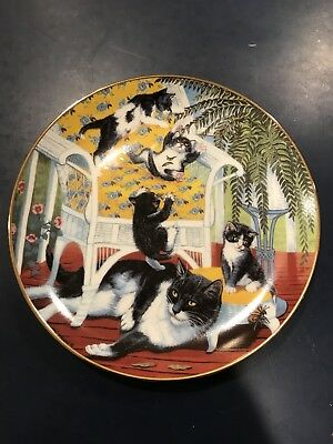Just for the Fern of it - Gre Gerardi - Hamilton Plate 1988 Cats