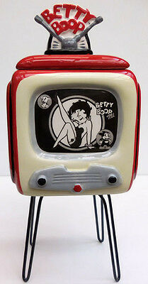 Betty Boop Collector's Tv Image Ceramic Keepsake Box, Vandor Company, Item 10127