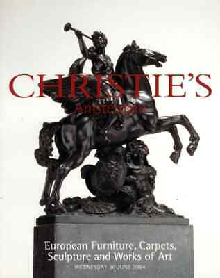 Christie's European Furniture, Carpets, Sculpture And Works Of Art