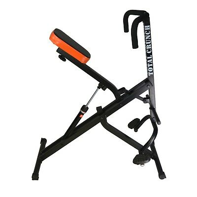Total Crunch Body Riding Exercise Machine with Hydraulic Resistance Fitness