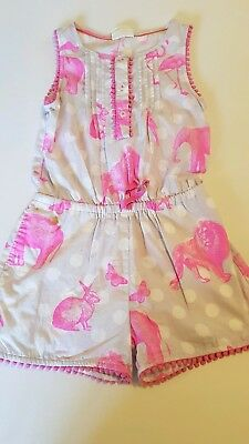 Mini Boden Playsuit 3-4 with mark