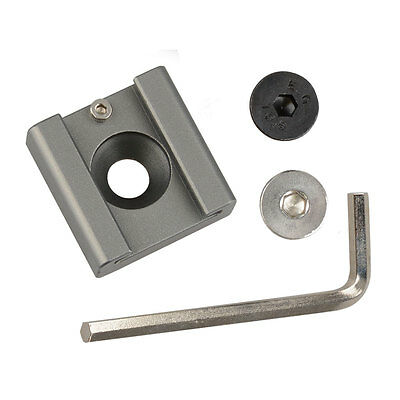 """New 1/4""""-20 Mounting Hole Hot Cold Shoe Mount for DSLR Camera Monitor"""