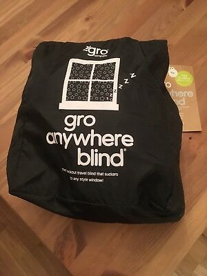 The Gro Company Gro Anywhere Blackout Blind, Attaches Directly To Glass