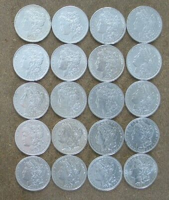 Roll Pre 1921 Mixed Date  Morgan Silver Dollars ..very High Grade Problem Coins