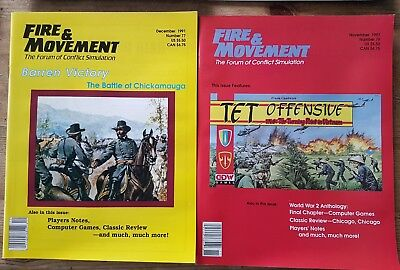 Fire and movement wargaming magazines 1991 issues