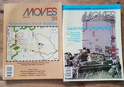 moves magazines by spi 1993 issues