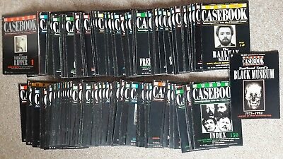 Murder Casebook Magazines 150 Issues Complete Set Collection Only Dn35 7Ez