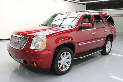 2014 GMC Yukon Denali Sport Utility 4-Door 2014 GMC YUKON DENALI SUNROOF NAV REAR CAM 20'S 56K MI #166775 Texas Direct Auto