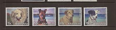 Bahamas 2009 Potcake Dogs Mounted Mint Set Of Stamps