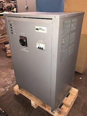 Sola Hevi Duty 30 kVA Three Phase Power Conditioner 63T2A330 - 63TAA330 208 VAC