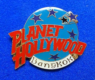 Bangkok Thailand Asian Planet Hollywood Blue Planet w/ Stars Logo PH Lapel Pin z