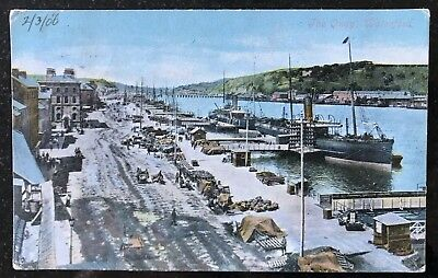 The Quays Waterford Postcard Ireland Postmark 1906