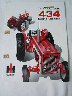@Vintage McCormick International 434 Tractor Brochure@