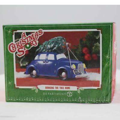 Department 56 A Christmas Story Village Bringing The Tree Home Retired (001)