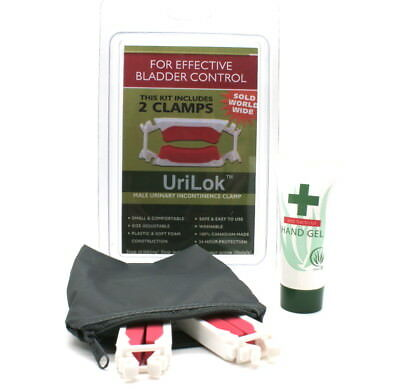 UriLok™  Male Urinary Incontinence Clamp -High Quality - FREE worldwide postage