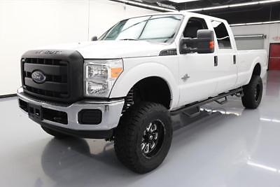 """2015 Ford F-250  2015 FORD F250 CREW 4X4 LIFT DIESEL 6PASS 34"""" TIRES 51K #D39012 Texas Direct"""