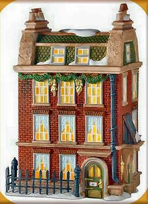 Dept 56 Dickens Village 48 DOUGHTY ST, HOME TO CHARLES DICKENS 805521 DEALER
