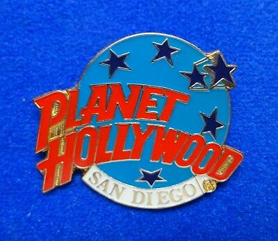 New San Diego California Planet Hollywood Blue Planet Stars Logo PH Lapel Pin z3