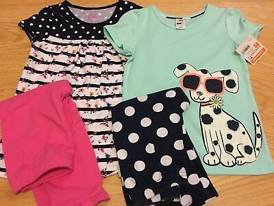 Girls size 7 spring outfits healthtex & faded glory lot