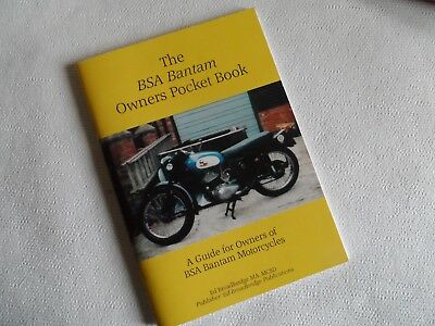 BSA bantam history, instruction, book.