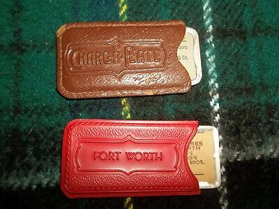Vtg Charga-Plate Credit Charge Cards Marshall Fields Etc. in Original Sleeves