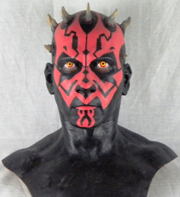 Star Wars TPM 1:1 Scale Resin Darth Maul Bust Raw Kit The Last Jedi