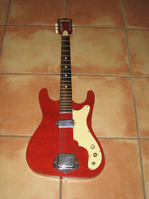 Vintage Silvertone Electric Guitar in excellent condition! WORKS PERFECTLY !!!