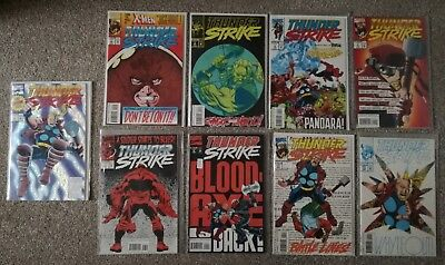 Marvel Comics: Thunderstrike (Thor spin off, 1993, 9 issues inc. issue 1)