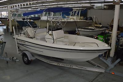 2004 Glastron 183 Center Console Boat, 18Ft, Johnson 90Hp W/ Trailer