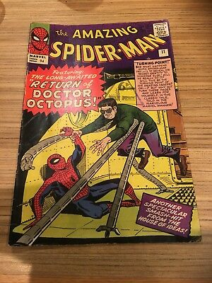 Amazing Spider-Man # 11, Marvel Silver Age Classic, 1964.