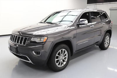 2014 Jeep Grand Cherokee Limited Sport Utility 4-Door 2014 JEEP GRAND CHEROKEE LTD 4X4 PANO NAV REAR CAM 20K #519135 Texas Direct Auto