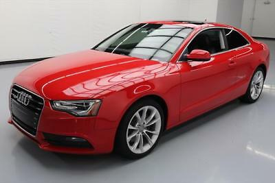 2013 Audi A5  2013 AUDI A5 2.0T QUATTRO PREM PLUS AWD SUNROOF NAV 46K #015140 Texas Direct