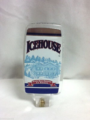 Miller Icehouse acrylic beer tapper handle brewery tap taps tappers knob pull E1