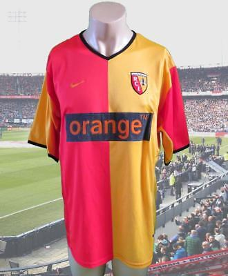 RC Lens 2000-01 home shirt NIKE soccer jersey size L