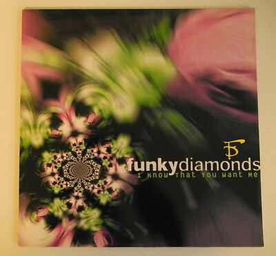 "12"" De**funky Diamonds - I Know That You Want Me (Bmg / Ariola '97)***12871"
